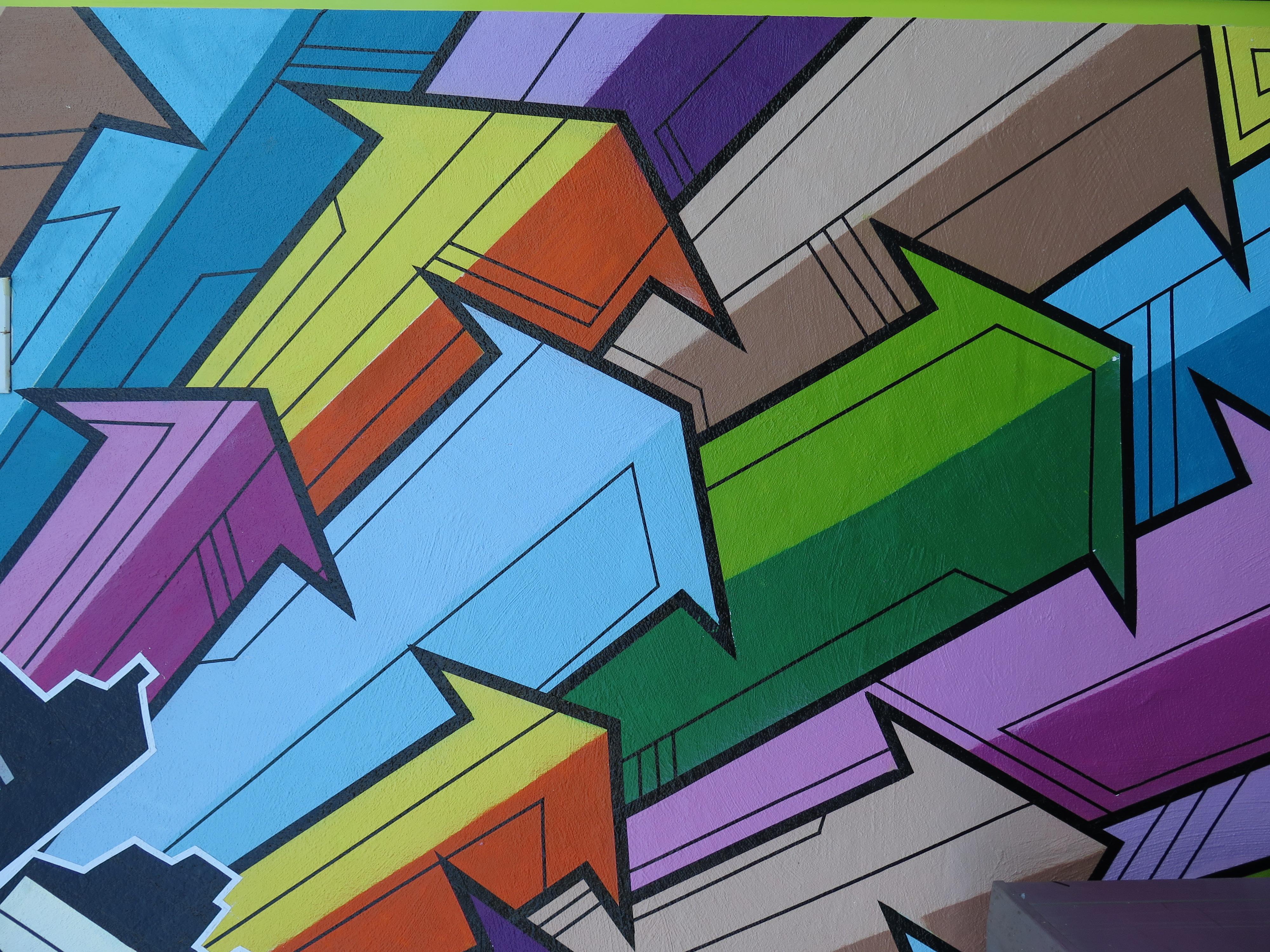 Street Art am Holzmarkt 2018