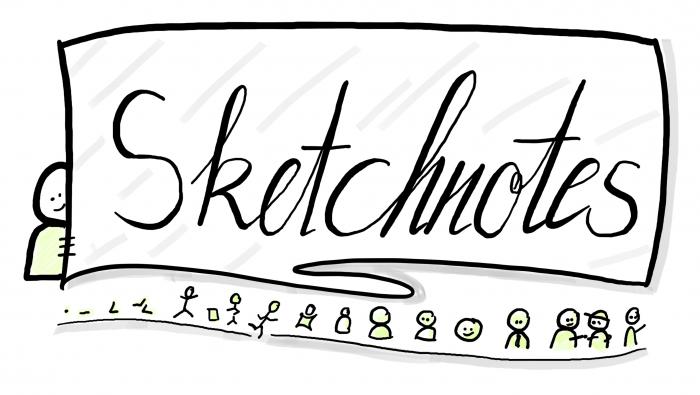 Sketchnotes oder: wie der Punkt laufen lernte